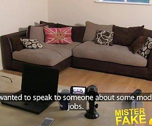 Misterfake anal casting for smoking hot ungarske jenta